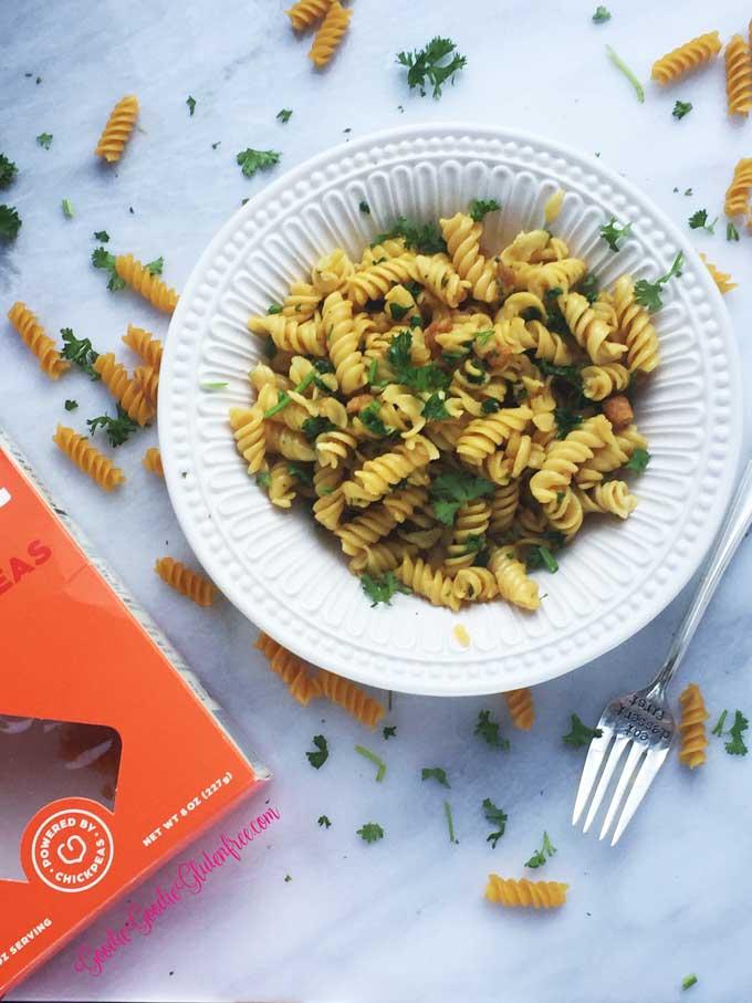 Gluten-Free Garlic Knot Pasta - Vegan