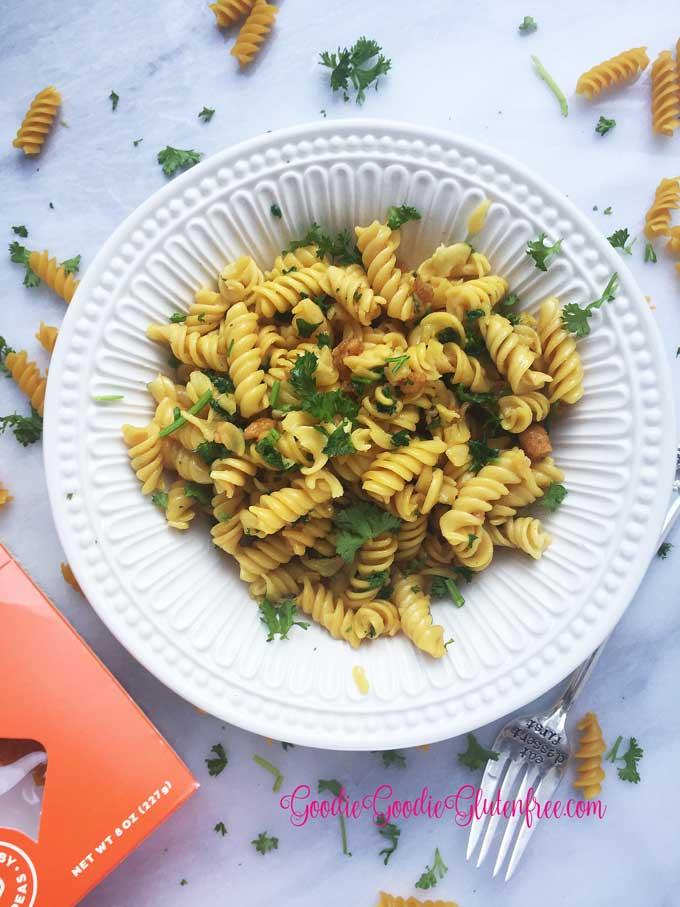 Gluten-free garlic knot pasta
