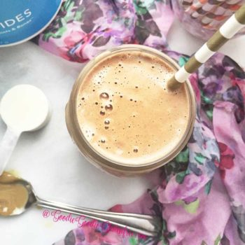 healthy sunbutter chocolate smoothie vegan paleo
