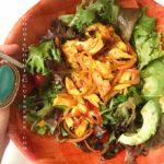 turmeric fajita gluten free salad paleo nut free