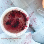 red velvet beetroot hot cocoa