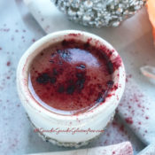 Healthy Beetroot Red Velvet Hot Cocoa {paleo, dairy-free}