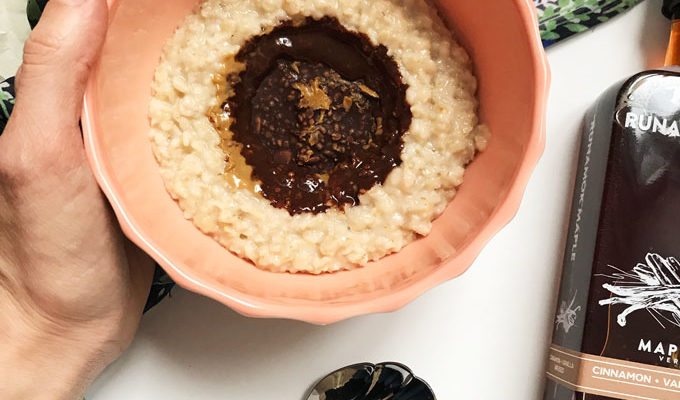 Simple Gluten-Free Cinnamon Infused Oatmeal {dairy-free, nut-free, vegan}