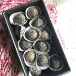 Lemon poppy seed bliss balls gluten free