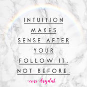 Soul Talk: Intuition