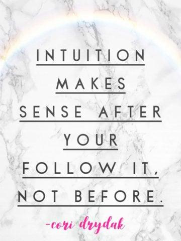 soul talk intuition