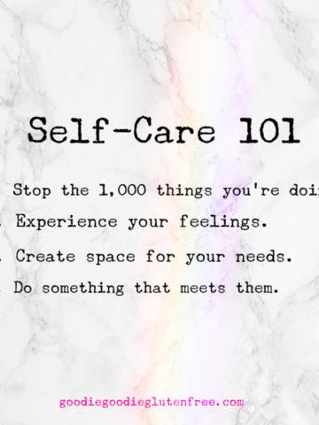 soul talk self care