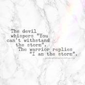 Soul Talk: The Storm