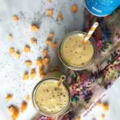 Dairy-Free Strawberry Cantaloupe Smoothie {paleo}