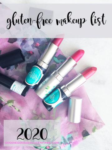 gluten free makeup list