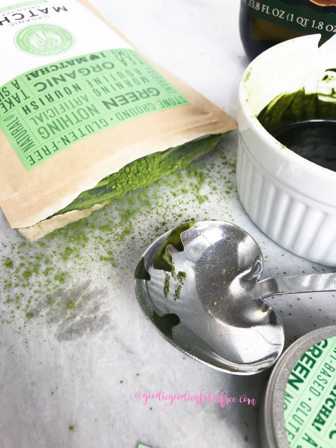 matcha green tea spot treatment