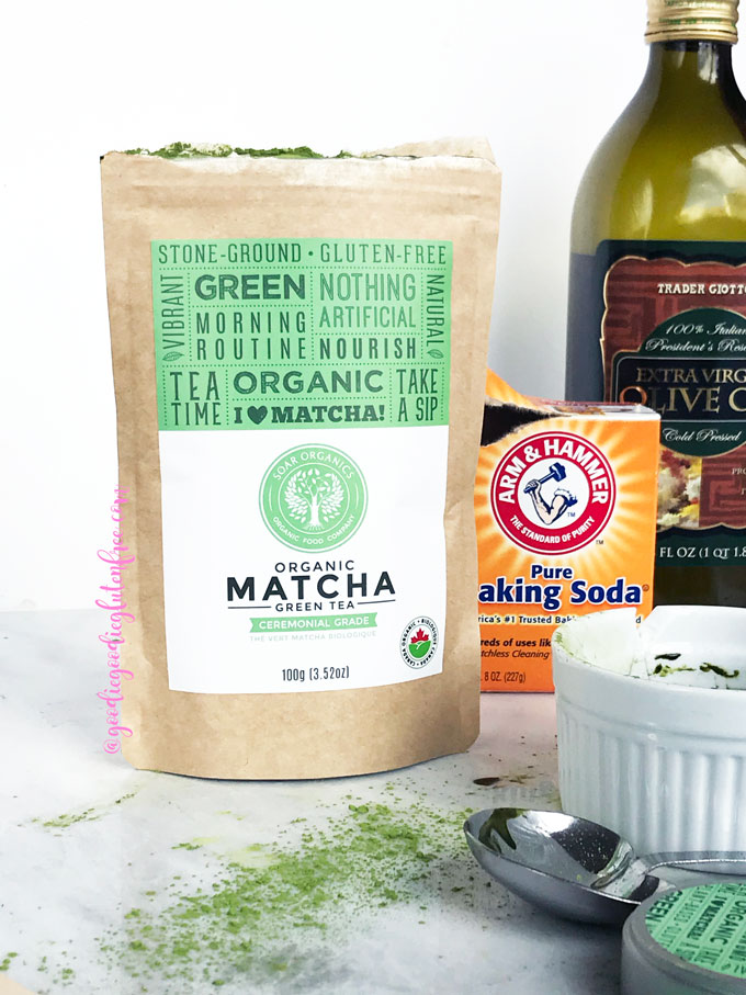 matcha tea powder acne treatment