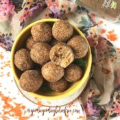 Paleo Carrot Cake Bliss Balls {nf, vegan}