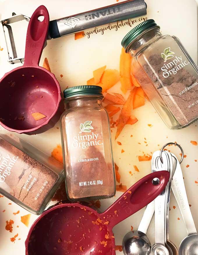 carrot cake natural ingredients