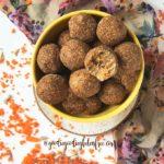 no bake carrot cake bliss balls