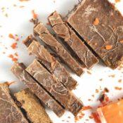 Carrot Cake Raw Slice {nf, vegan}